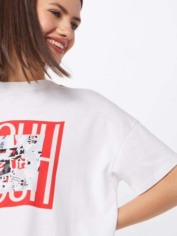 HUGO Shirt 'Darna' in weiß  Mode neue Kleidung Kleidung Kleidung 7544c5