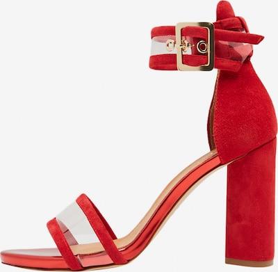 faina Sandalette in rot, Produktansicht