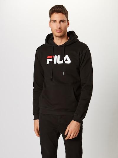 FILA Sweatshirt 'PURE' in schwarz / weiß, Produktansicht