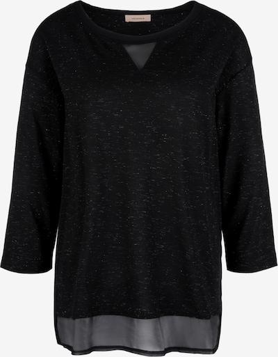 TRIANGLE T-Shirt in schwarz / silber, Produktansicht
