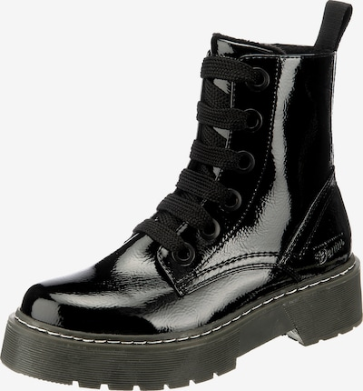 Suvarstomieji kulkšnis dengiantys batai iš TOM TAILOR , spalva - juoda, Prekių apžvalga