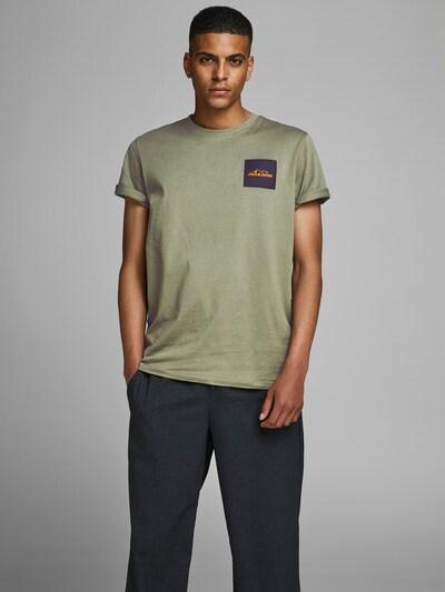 JACK & JONES Shirt in de kleur Olijfgroen: Vooraanzicht