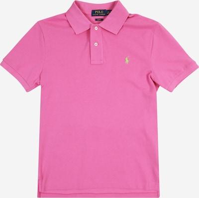 POLO RALPH LAUREN T-Shirt 'SLIM POLO' en rose, Vue avec produit