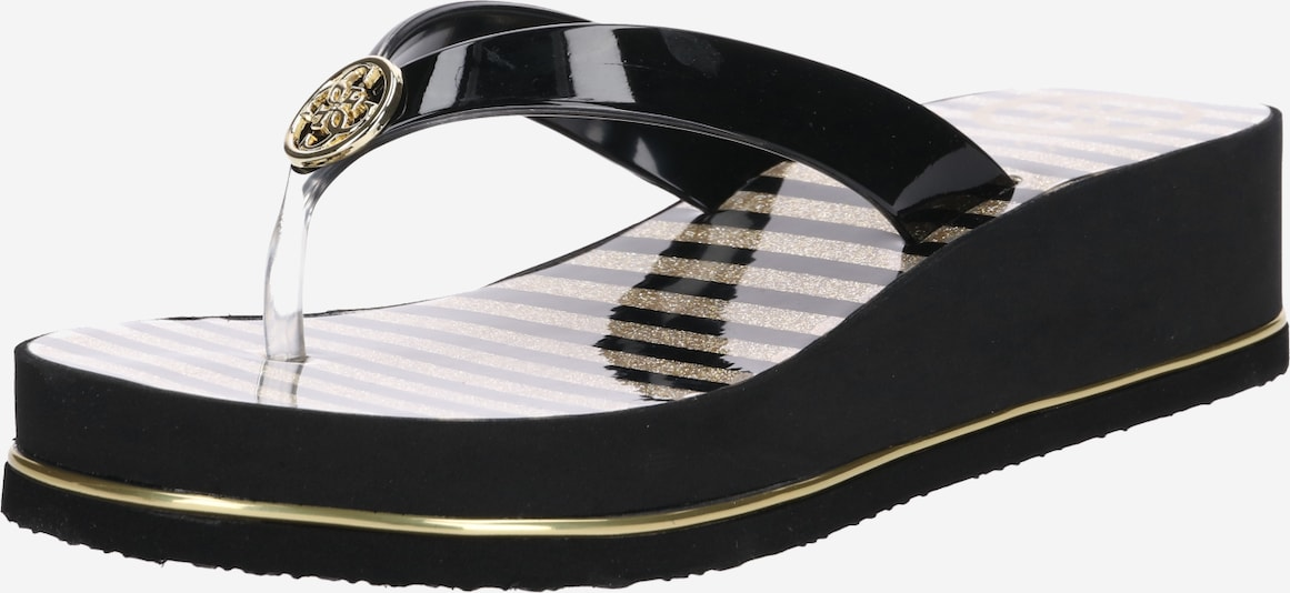 GUESS Slipper 'Enzy' in schwarz, Produktansicht