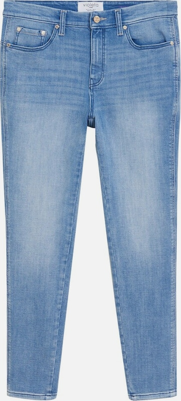 VIOLETA by Mango Jeans 'Irene' in blue denim, Produktansicht