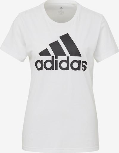 ADIDAS PERFORMANCE Shirt in schwarz / weiß, Produktansicht