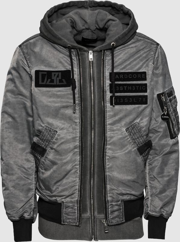 DIESEL Jacke 'J-KUNIO JACKE' in dunkelgrau  Markenkleidung für Männer und Frauen