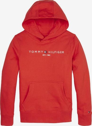 TOMMY HILFIGER Sweatshirt in grenadine / weiß, Produktansicht