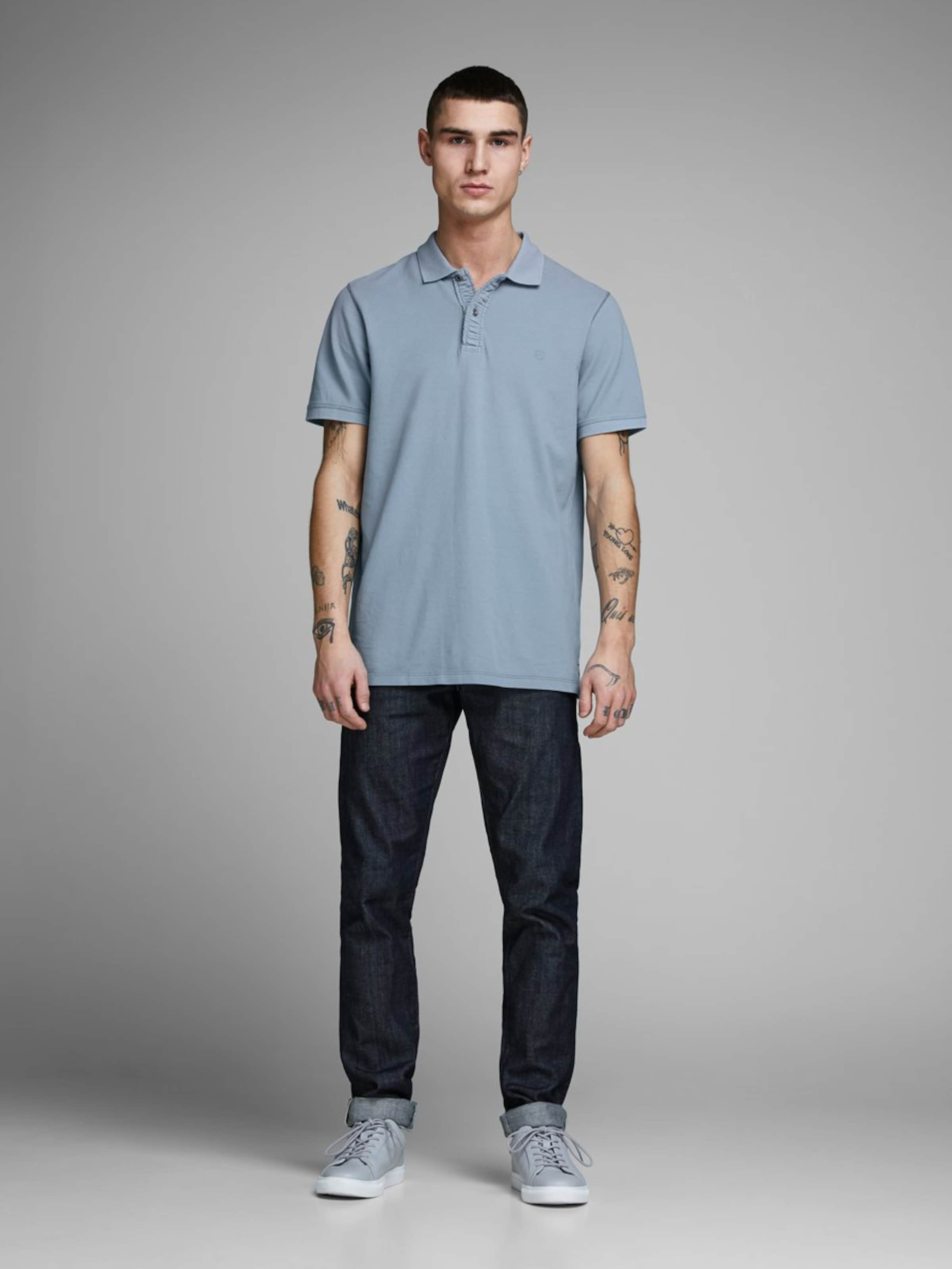 Jones T Bleu Fumé Jackamp; En shirt EH92YDWI