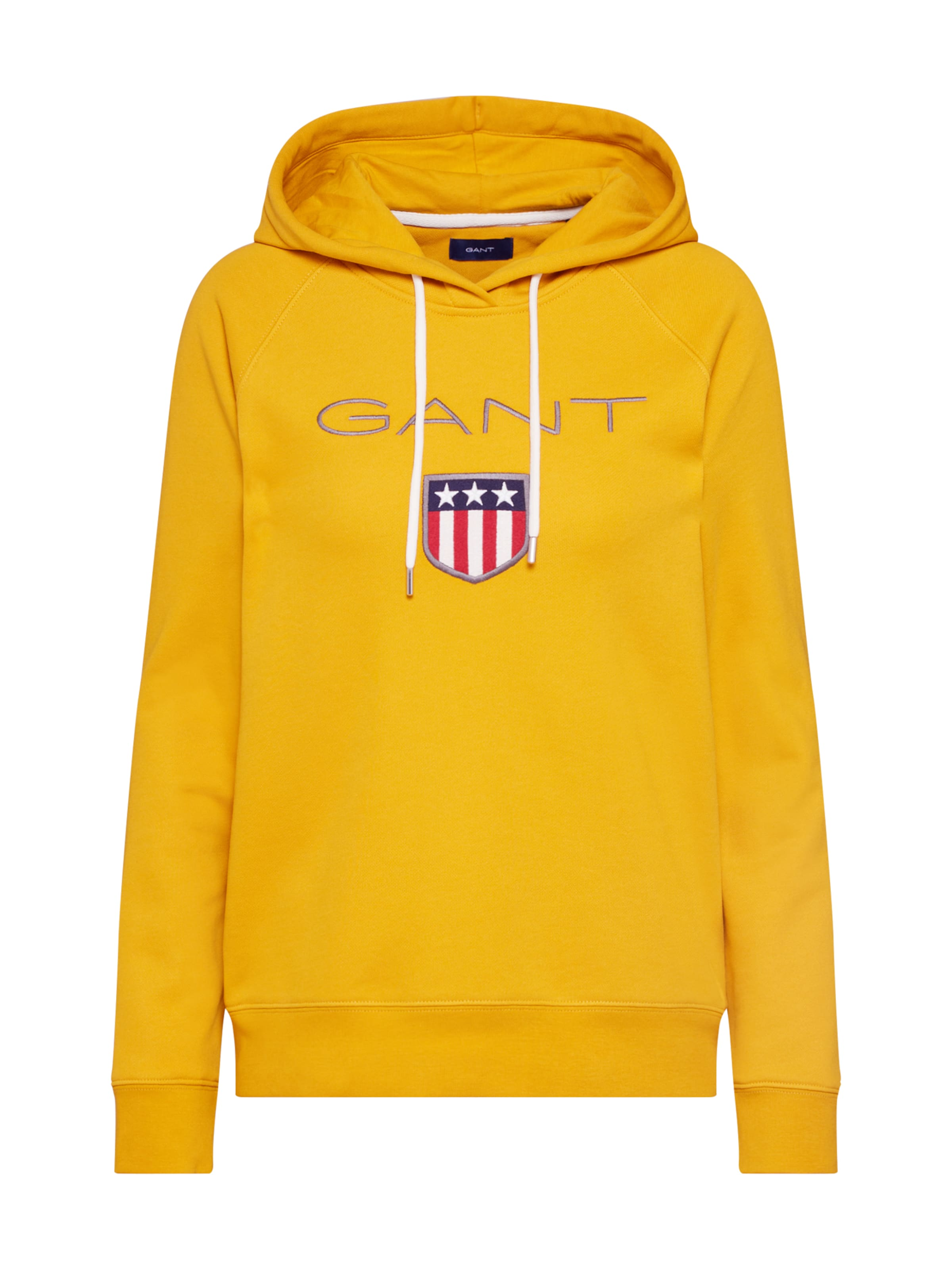 In Gant Sweatshirt Gant Goldgelb 'shield' 'shield' Sweatshirt OuXkZiP