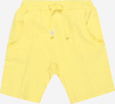NAME IT Hose 'NMMHOLID LIGHT SWEAT LONG SHORTS UNB' in gelb, Produktansicht