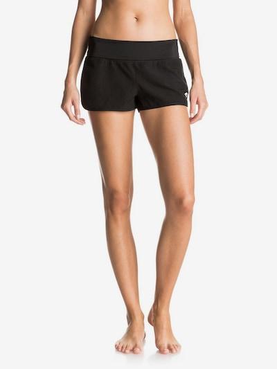 ROXY Shorts de bain 'Endless Summer' en noir / blanc, Vue avec modèle