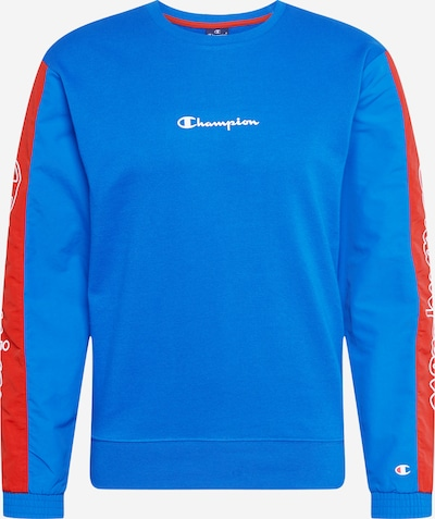 Champion Authentic Athletic Apparel Sweatshirt in blau / rot, Produktansicht