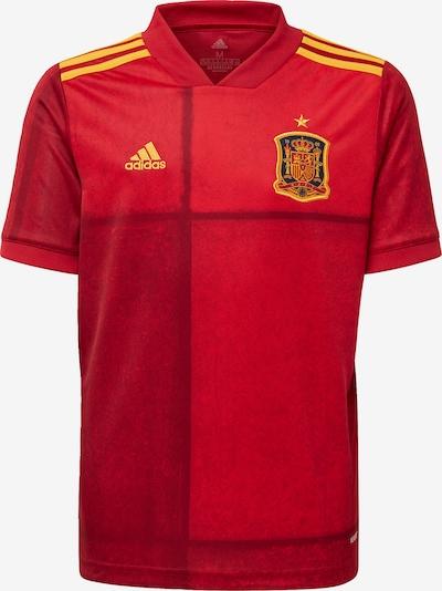 ADIDAS PERFORMANCE Fußballtrikot 'Spanien EM 2020 Heim' in goldgelb / rot / hellrot, Produktansicht