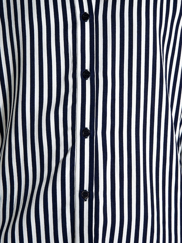 Pieces Striped, Long-sleeved Shirt
