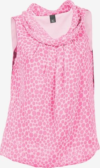 heine Blusentop in rosa / weiß, Produktansicht