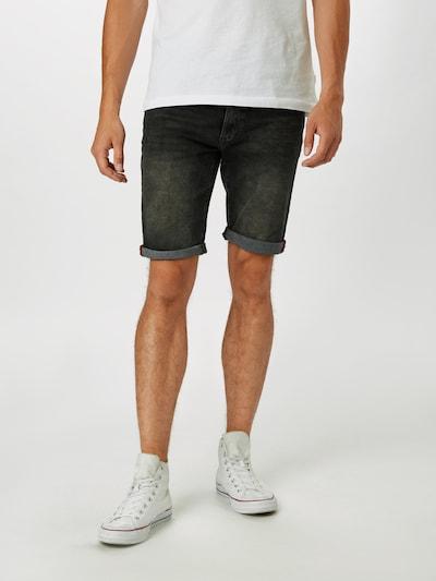 Pantaloni Petrol Industries pe negru, Vizualizare model