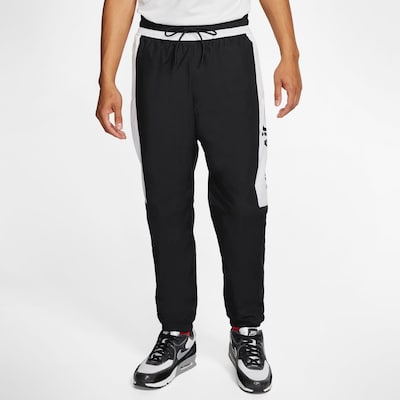Nike Sportswear Hose 'Air' in schwarz / weiß, Modelansicht