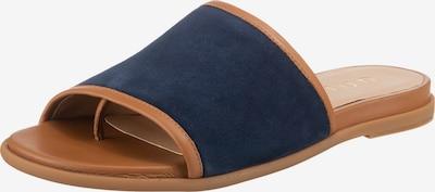 UNISA Pantoletten 'Candy' in blau / braun, Produktansicht