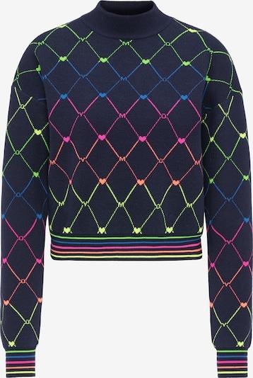MYMO Pullover in blau / mischfarben, Produktansicht