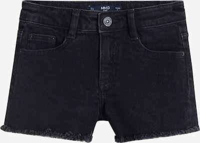MANGO KIDS Shorts 'Isabel' in black denim, Produktansicht