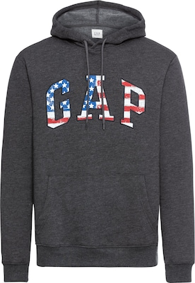GAP Hoodie 'FLEECE ARCH FLAG'