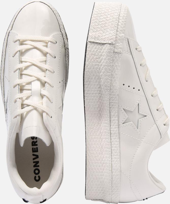 Converse Star Blanc PlatformOx' En Baskets Basses 'one zVSMUp