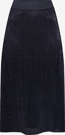 PIECES Rock 'PCJUNE HW MIDI SKIRT' in schwarz, Produktansicht
