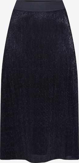 PIECES Spódnica 'PCJUNE HW MIDI SKIRT' w kolorze czarnym: Widok z przodu