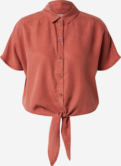 Noisy may Blouse 'GARY' in de kleur Bruin, Productweergave