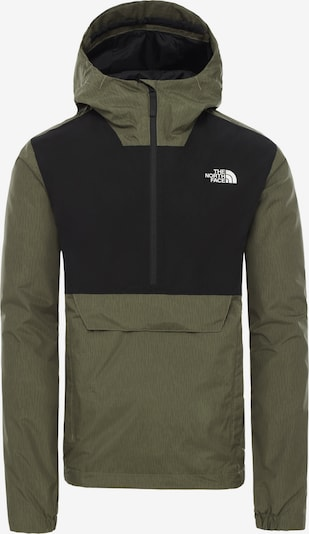 THE NORTH FACE Jacke 'Fanorak' in khaki / schwarz, Produktansicht