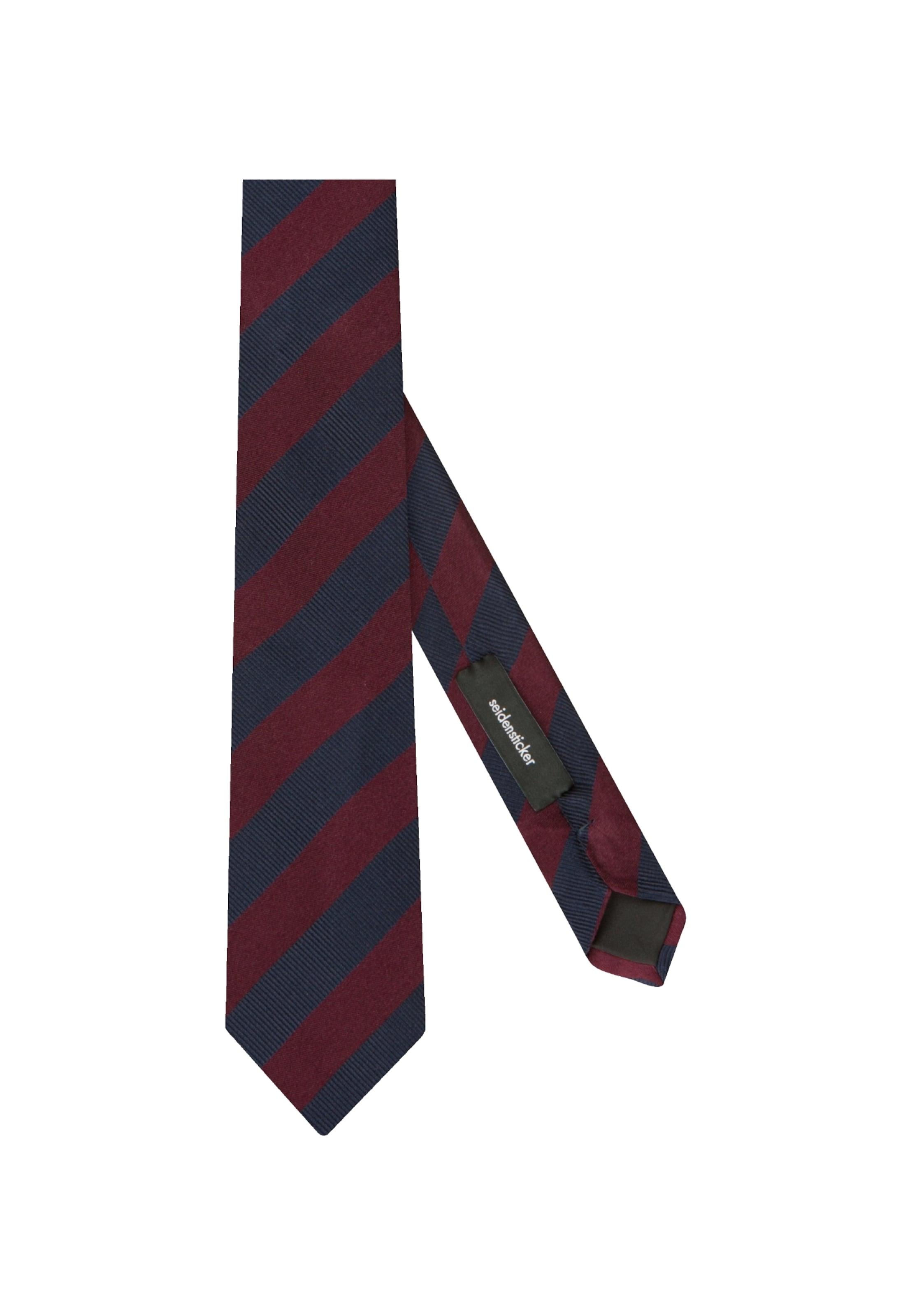 Krawatte Rose' 'schwarze Seidensticker Rot In PXZiTkOu