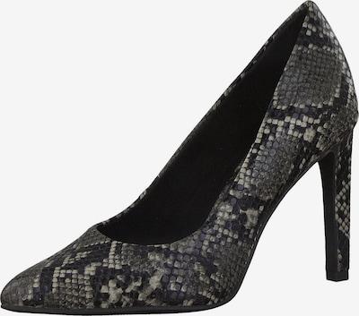 MARCO TOZZI Augstpapēžu kurpes gaiši pelēks / tumši pelēks / melns, Preces skats