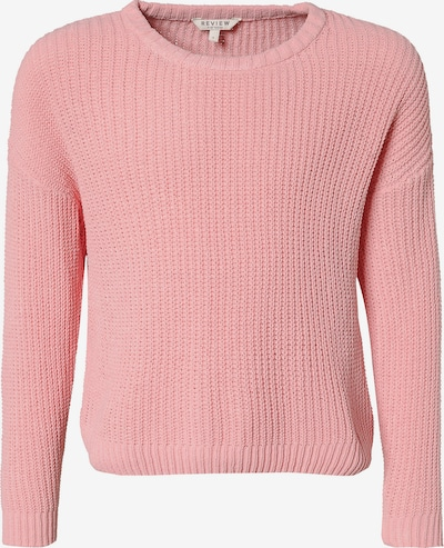 REVIEW FOR TEENS Strickpullover in rosa, Produktansicht