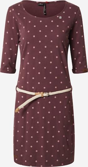 Ragwear Kleid 'Tamy' in weinrot, Produktansicht
