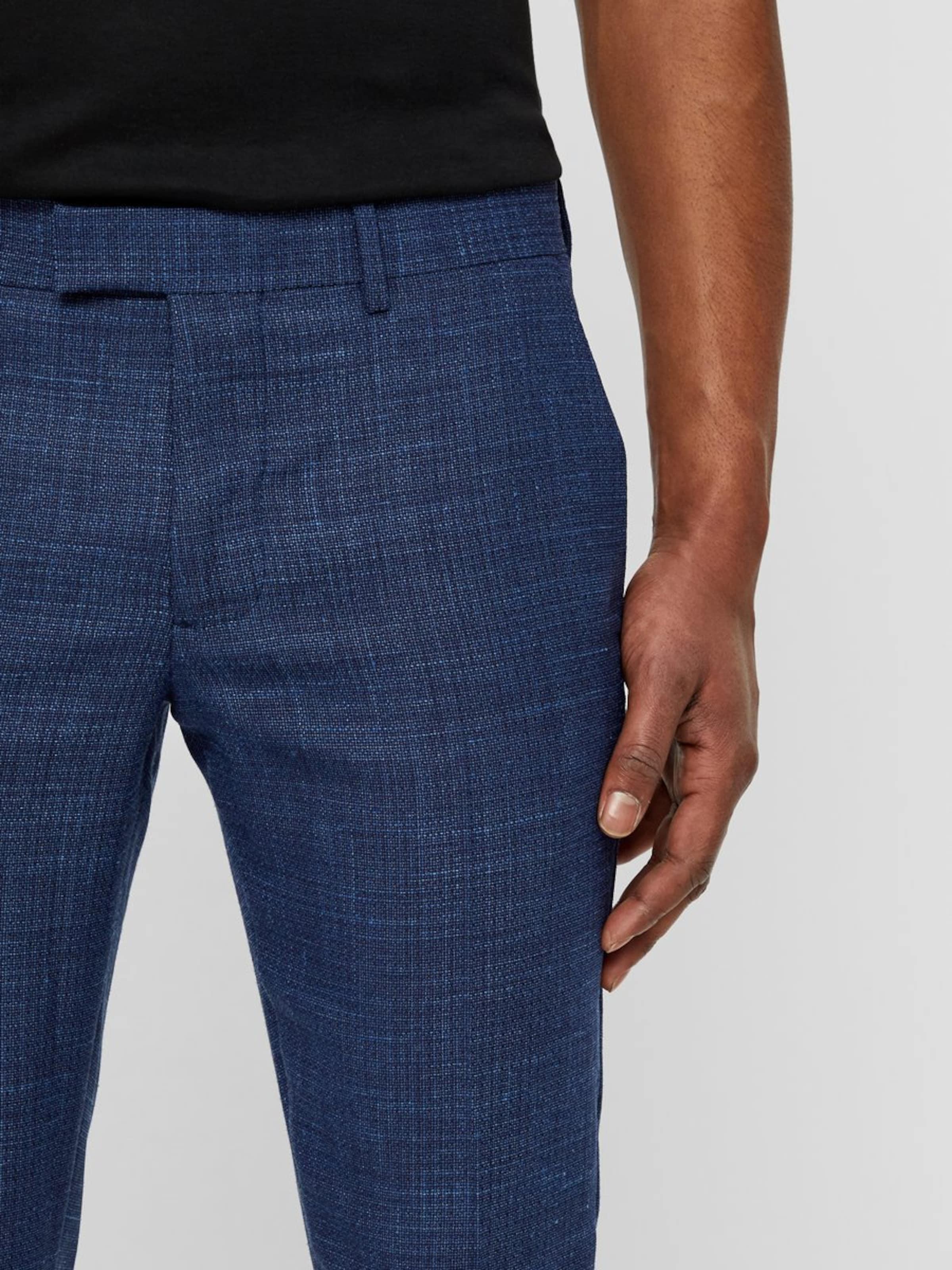 Plis J lindeberg En Bleu Pantalon À 'grant' Foncé SzMVLqUpG