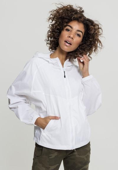 Urban Classics Windbreaker Jacket in weiß: Frontalansicht
