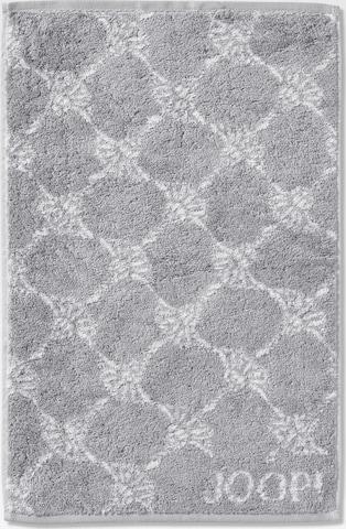 JOOP! Towel 'Cornflower' in Grey