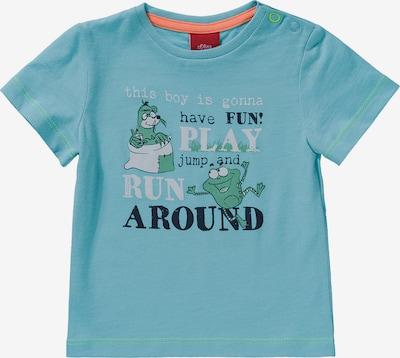 Marškinėliai iš s.Oliver Junior , spalva - turkio spalva / mišrios spalvos, Prekių apžvalga