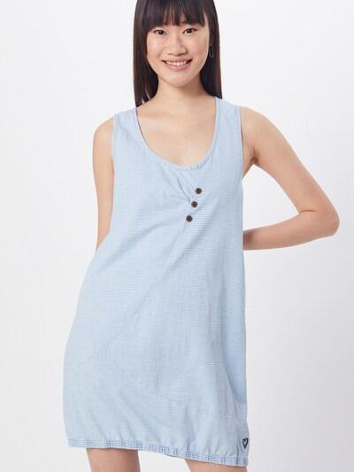 Alife and Kickin Kleid 'Cameron' in hellblau / weiß, Modelansicht