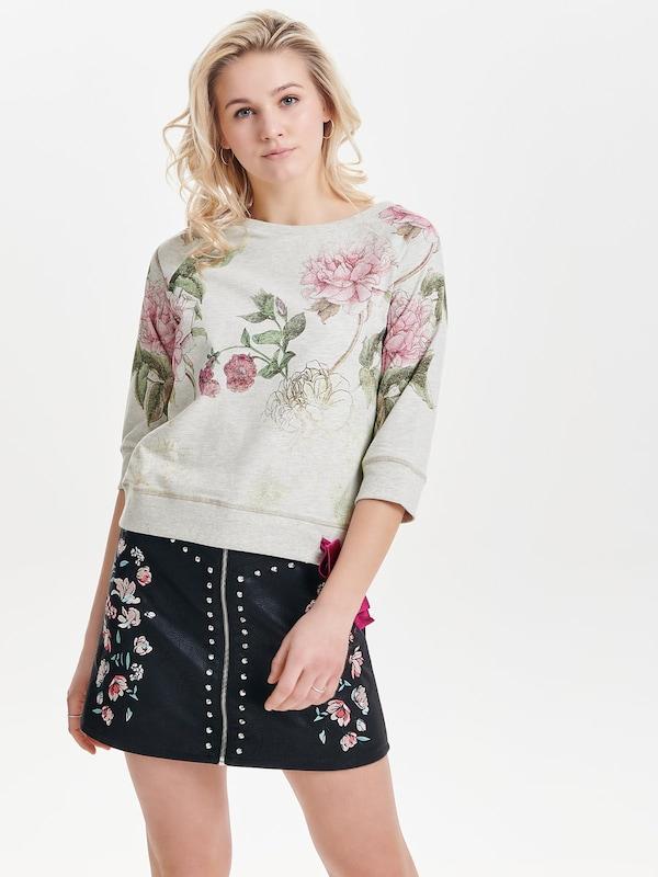 ONLY Blumenprint Sweatshirt