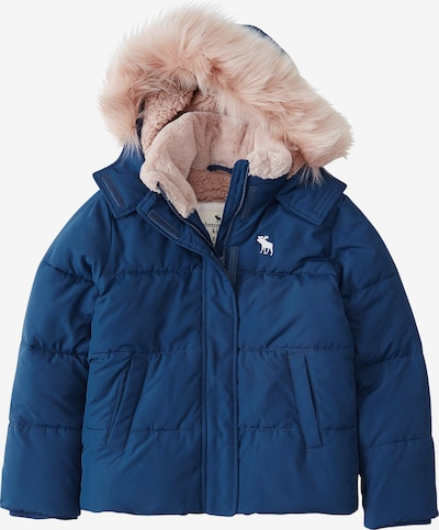Abercrombie & Fitch Talvejope 'ESSENTIAL PUFFER DTC EXT 1CC' sinine / must, Tootevaade