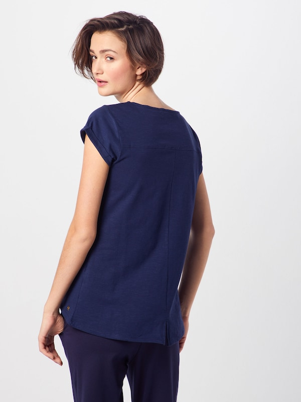 Esprit T En Bleu shirt Marine YfvygI6m7b