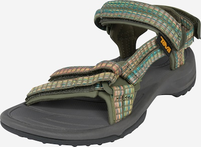 TEVA Trekinga sandales 'Terra Fi Lite' bēšs / zaļš / jauktu krāsu, Preces skats