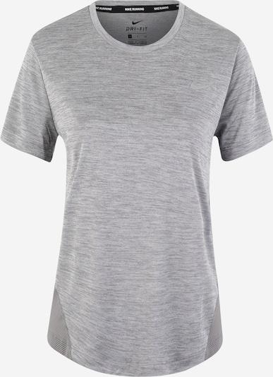 NIKE Shirt 'MILER' in grau, Produktansicht