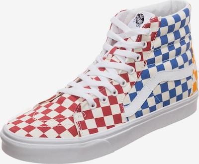 VANS Sneaker 'Sk8-Hi' in royalblau / goldgelb / feuerrot / weiß, Produktansicht