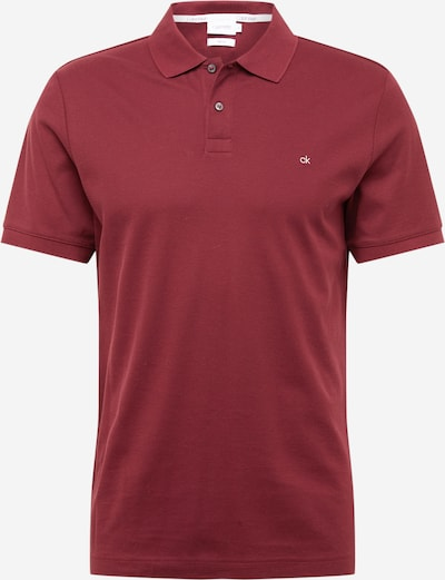 Calvin Klein Poloshirt in bordeaux, Produktansicht