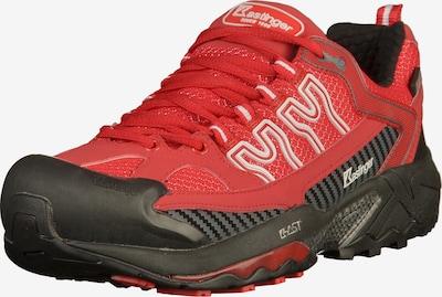 Kastinger Chaussure de sport à lacets en rouge / blanc, Vue avec produit