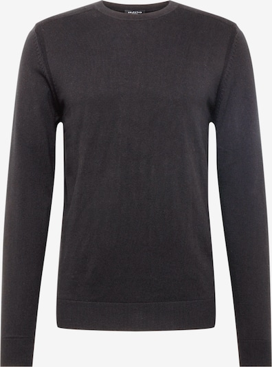 Megztinis 'SLHDANIEL CREW NECK B NOOS' iš SELECTED HOMME , spalva - juoda: Vaizdas iš priekio