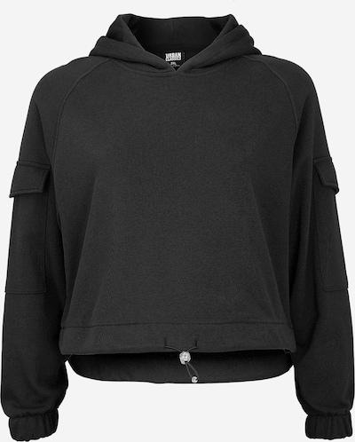 Urban Classics Curvy Hoodie in schwarz, Produktansicht